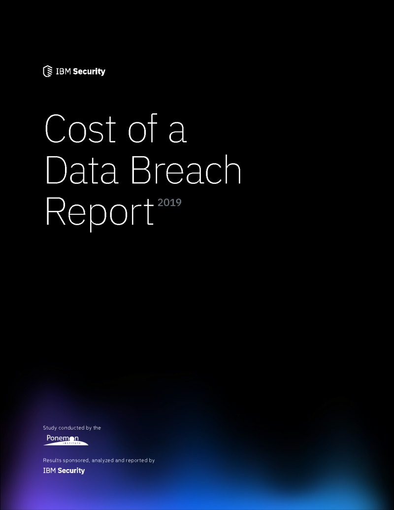 Cost of a Data Breach Report