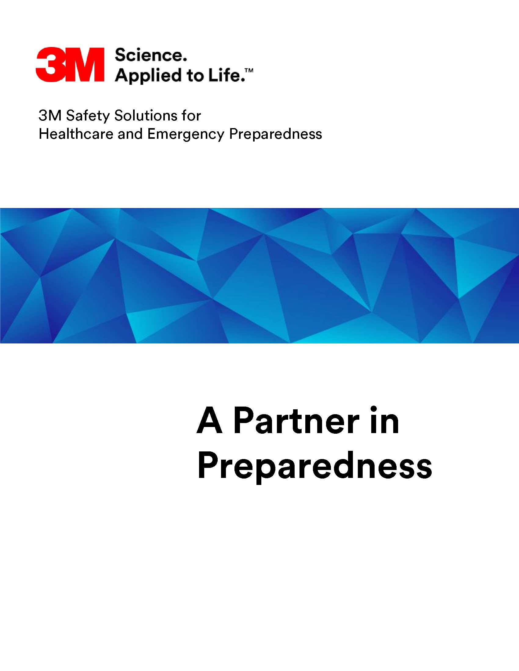 3M Emergency Preparedness Handbook