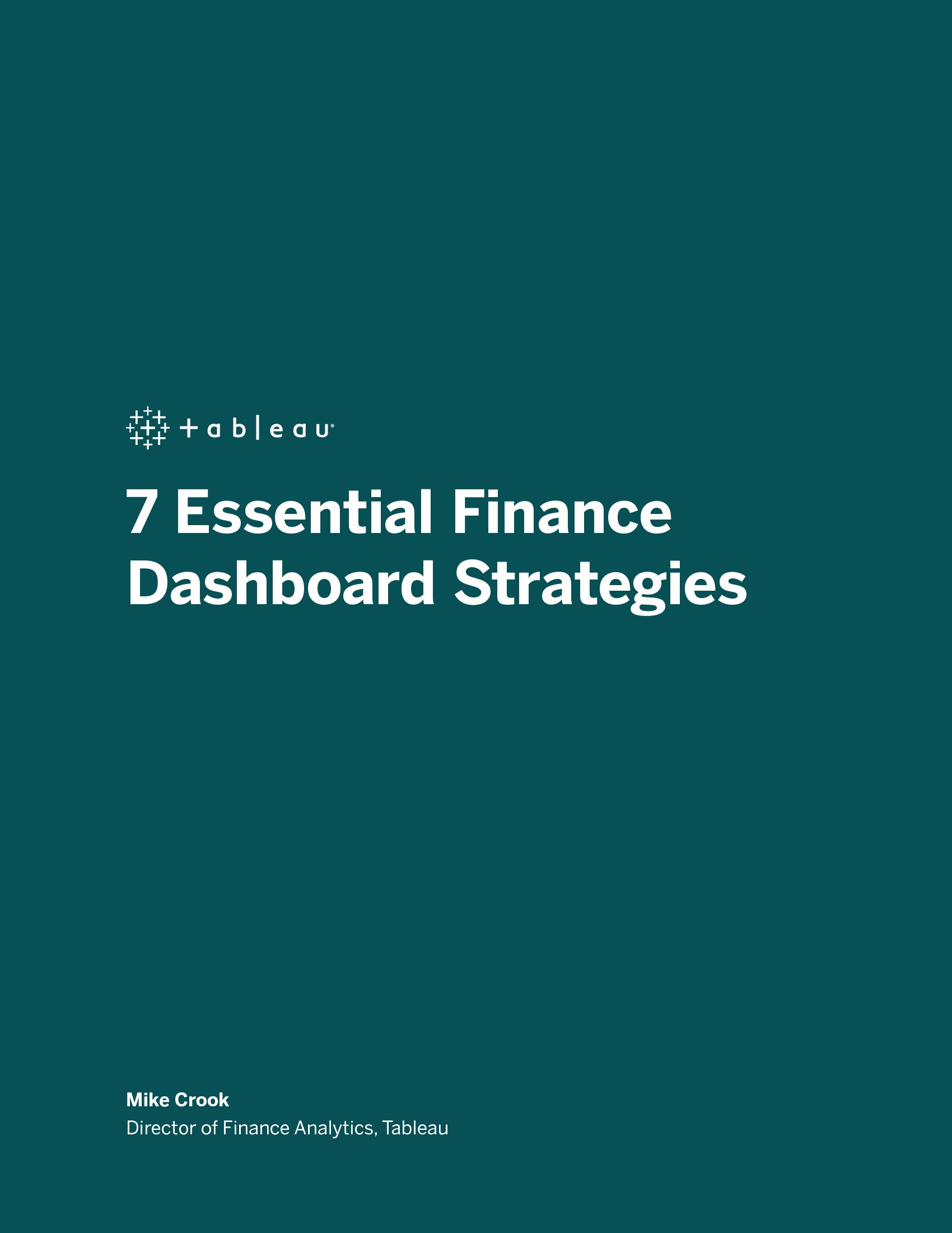 7 Essential Finance Dashboard Strategies