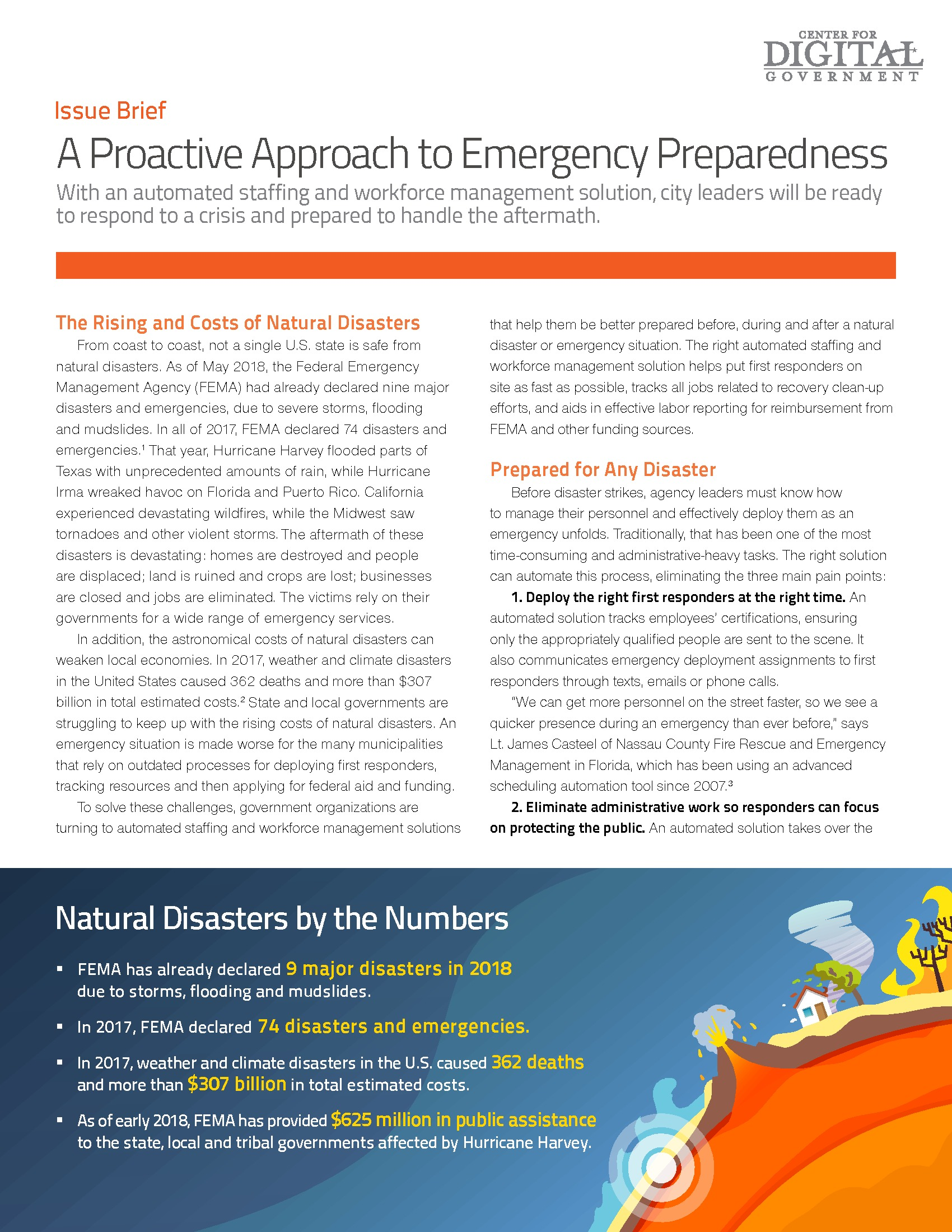 A Proactive Approach to Emergency Preparedness