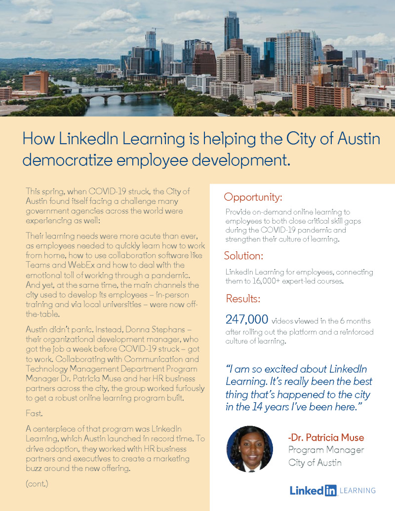 Want to Engage Your Gov Employees? See What Austin Did