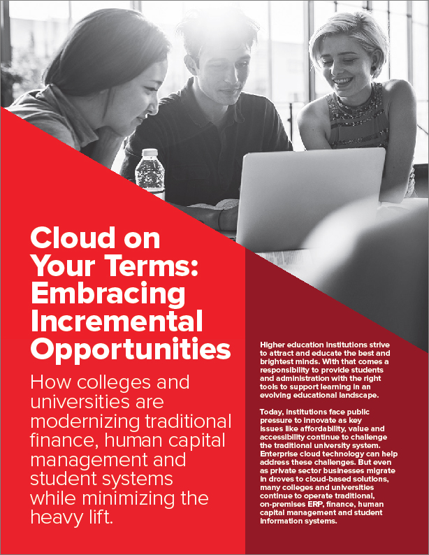 Cloud on Your Terms: Embracing Incremental Opportunities