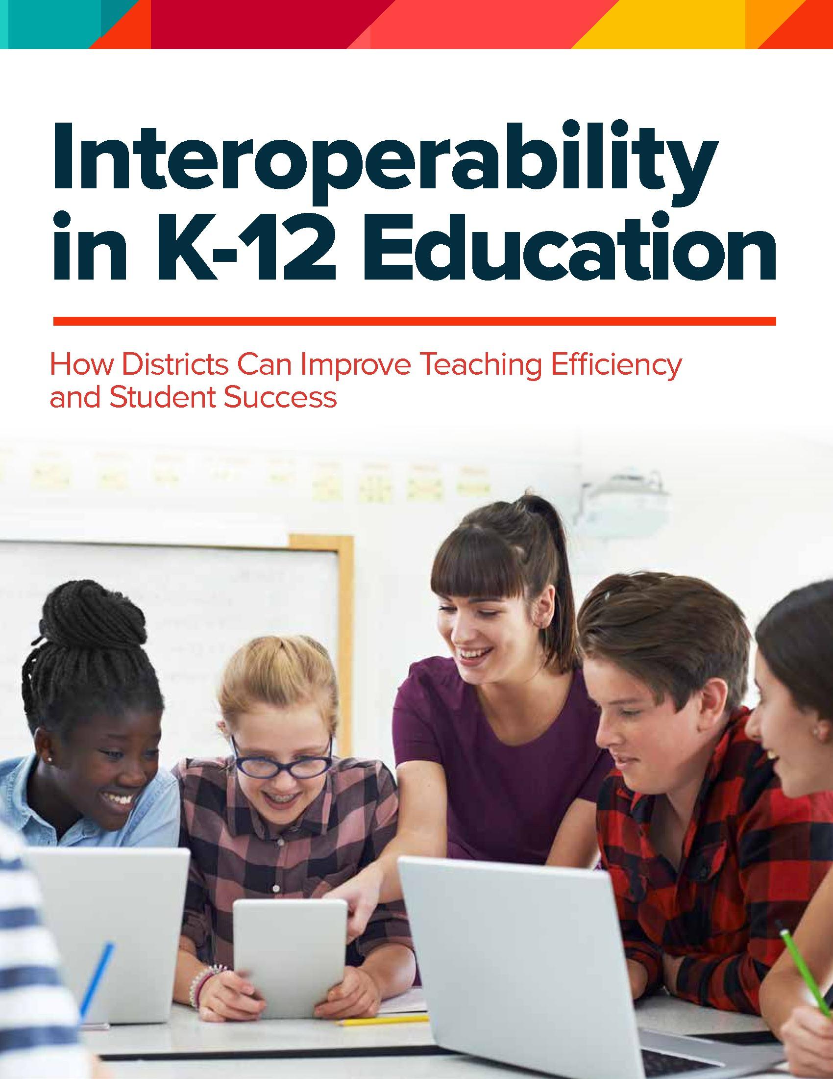 CDE - PowerSchool - Issue Brief - 180613 - Interoperability in K-12 Education
