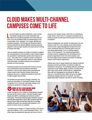 Cloud Makes Multi-Channel Campuses Come to Life