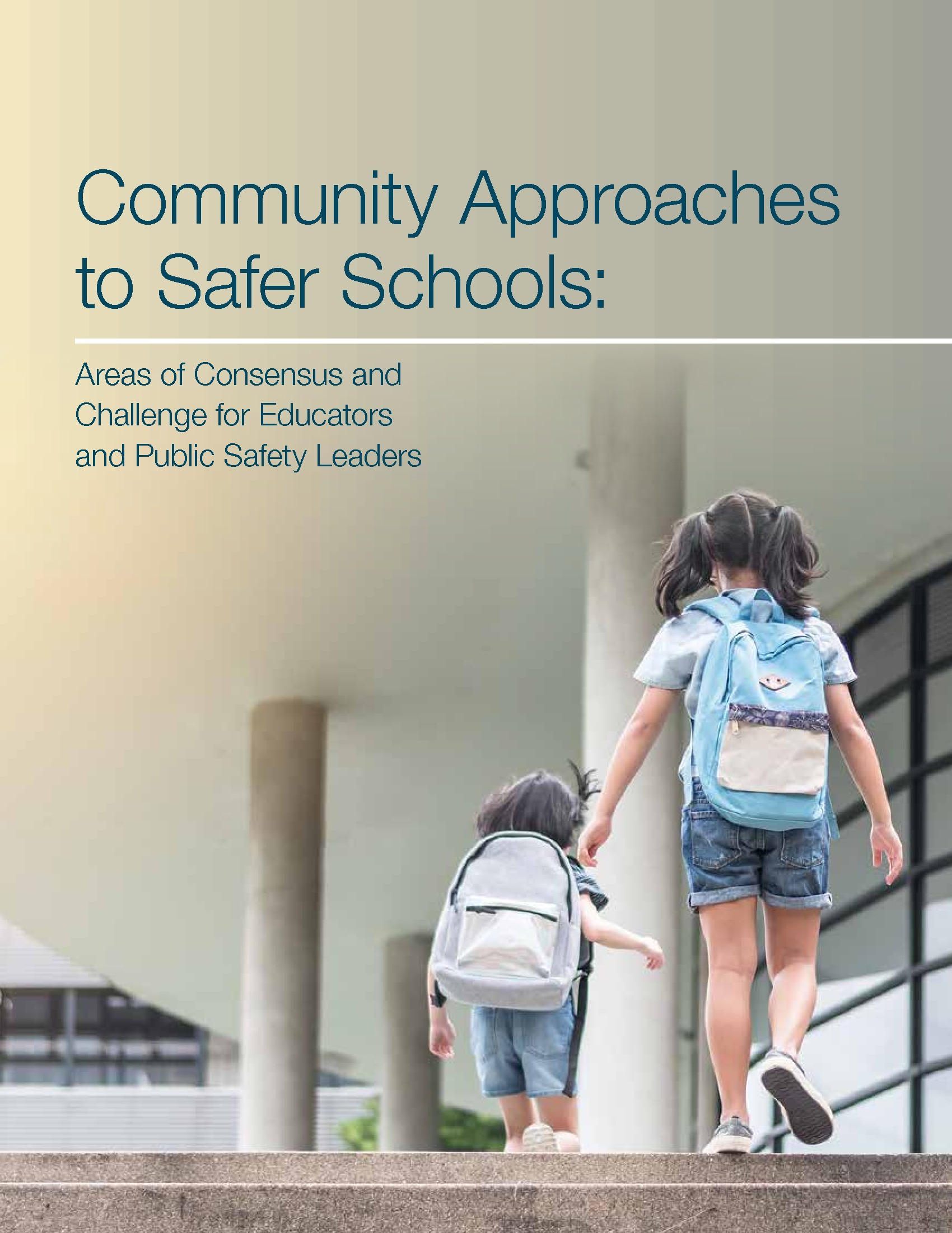Community Approaches to Safer Schools