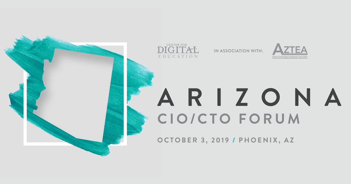Arizona CIO/CTO Forum 2019