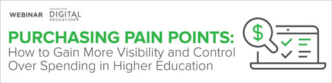 Purchasing Pain Points: How to Gain More Visibility and Control Over Spending in Higher Education