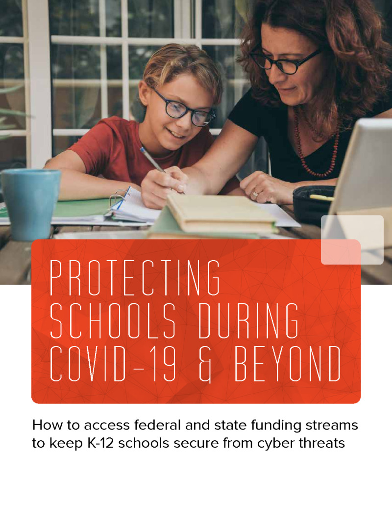 CDE - Crowdstrike - Issue Brief - 200925 - Protecting Schools During COVID-19