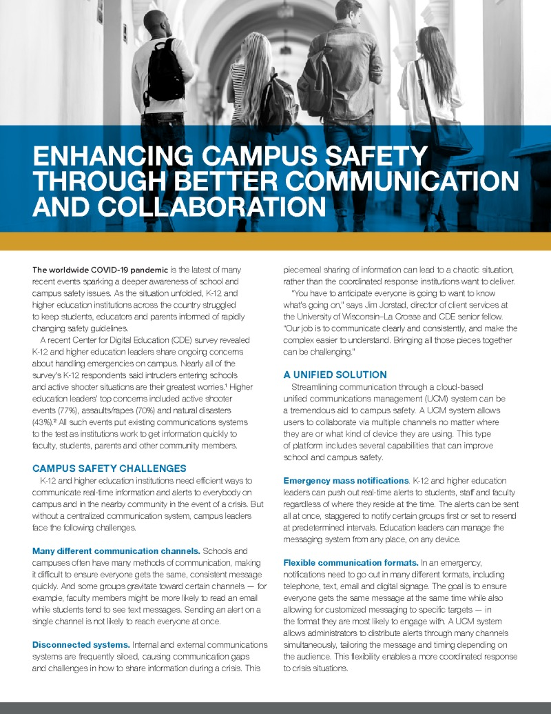 CDE - IronBow - Brief - 200512 - Enhancing Campus Safety