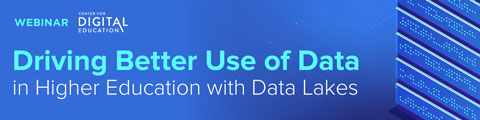 Driving Better Use of Data in Higher Education with Data Lakes