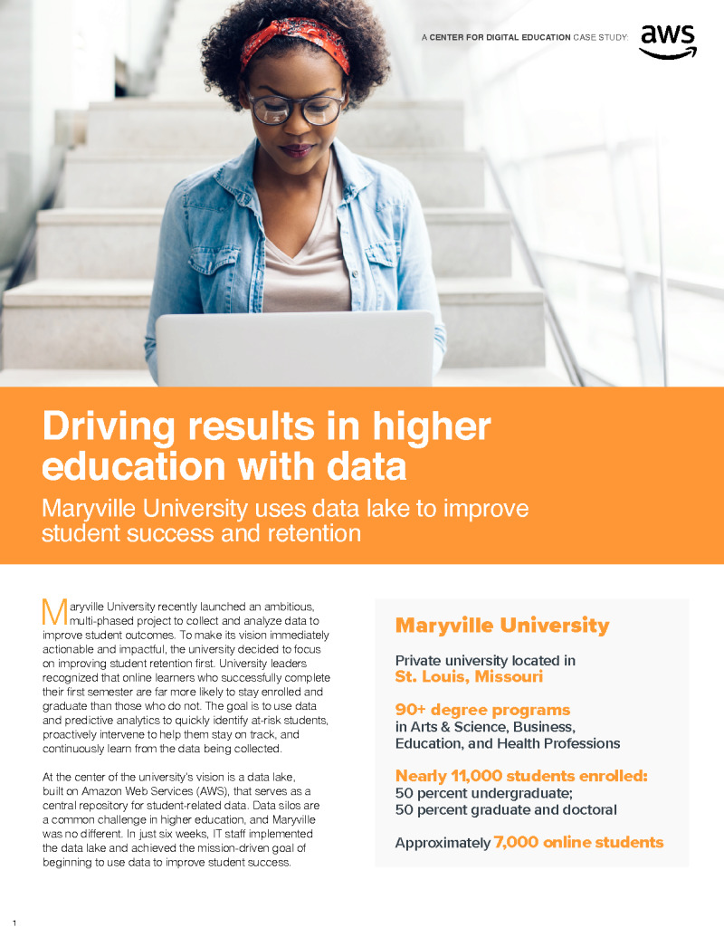 Driving Results in Higher Education with Data