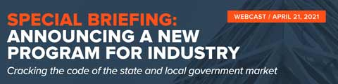 Special Briefing: Announcing a New Program for Industry