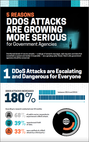 5 Reasons DDoS Attacks are Growing More Serious for Government Agencies