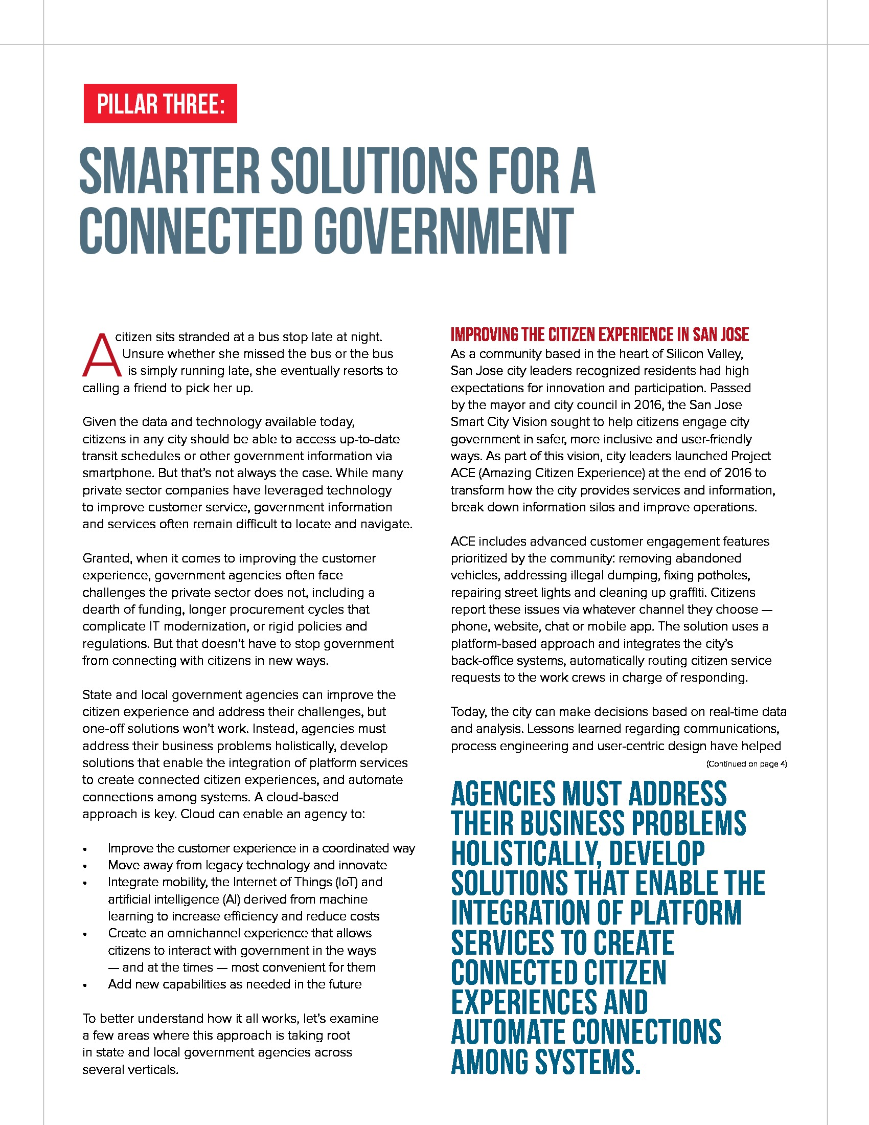 Smarter Solutions for a Connected Government