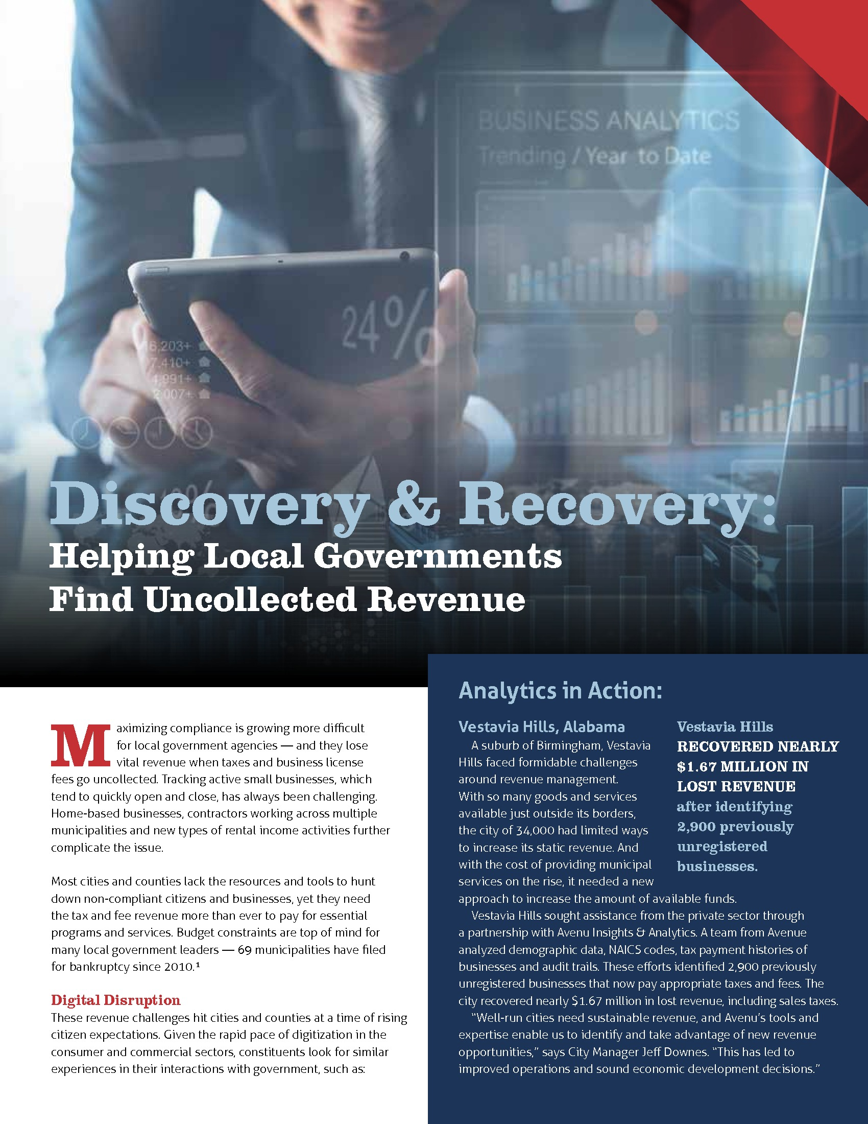 Discovery & Recovery: Helping Local Governments Find Uncollected Revenue