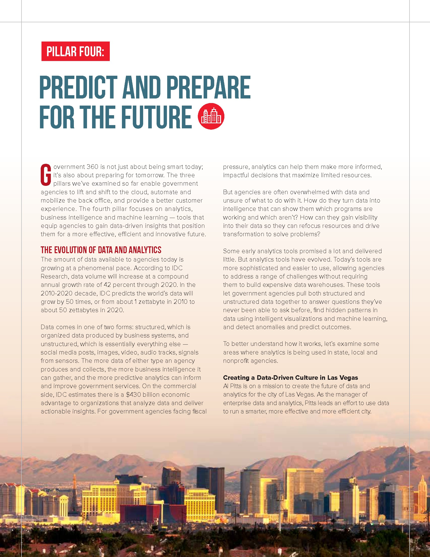 Predict and Prepare for the Future