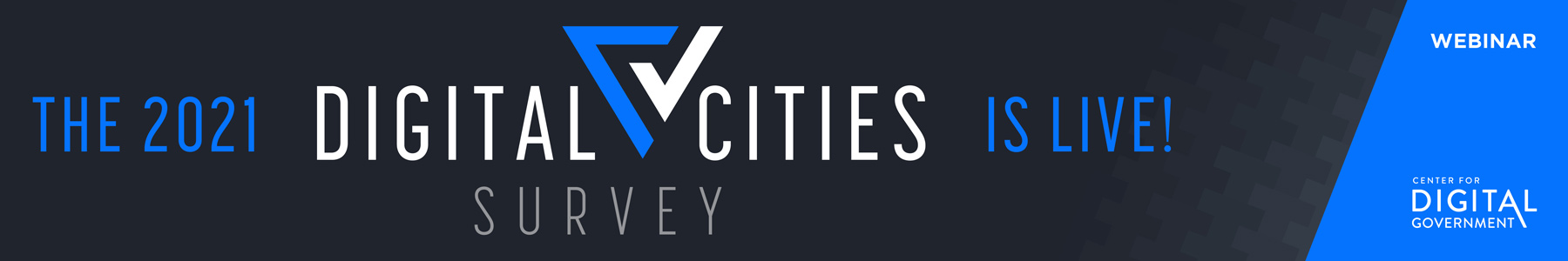 The 2021 Digital Cities Survey is Live!