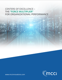Centers of Excellence - A Force Multiplier