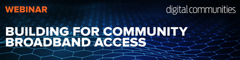 Building for Community Broadband Access