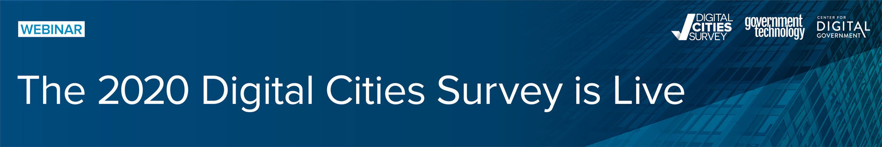 The 2020 Digital Cities Survey is Live