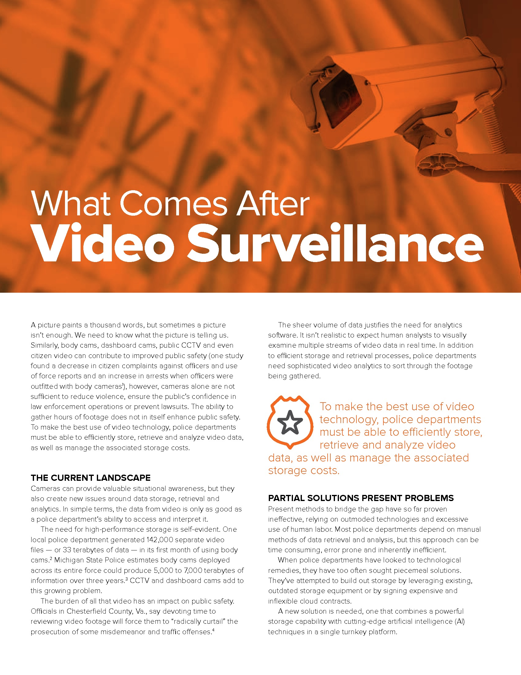 EM - Pure Storage - TLP - 180503 - What Comes After Video Surveillance