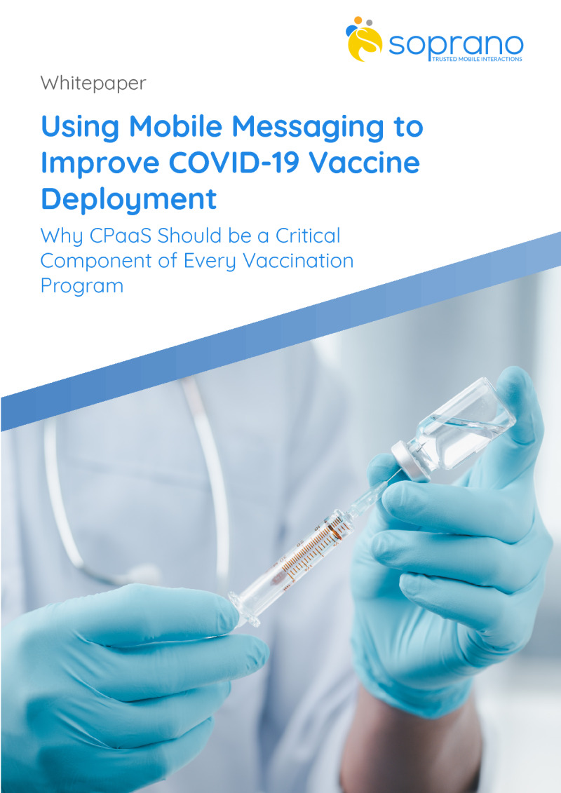 Using Mobile Messaging to Improve COVID-19 Vaccine Deployment
