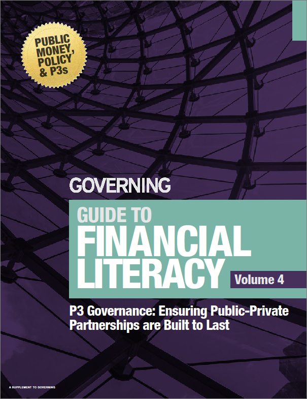 Guide to Financial Literacy Vol. 4 - P3 Governance: Ensuring Public-Private Partnerships are Built to Last