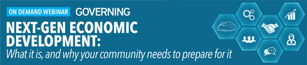 Next-Gen Economic Development: What it is, and why your community needs to prepare for it