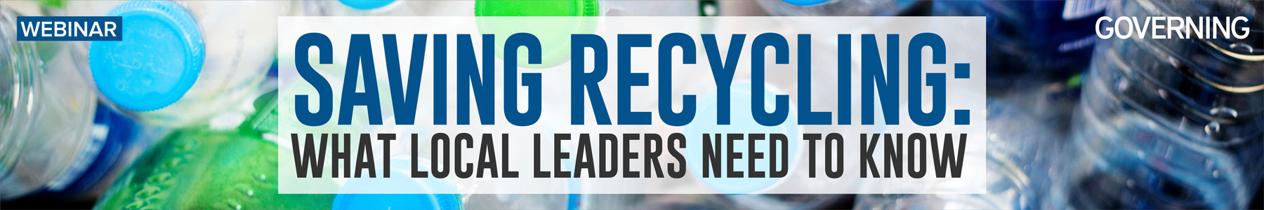 Saving Recycling: What Local Leaders Need to Know