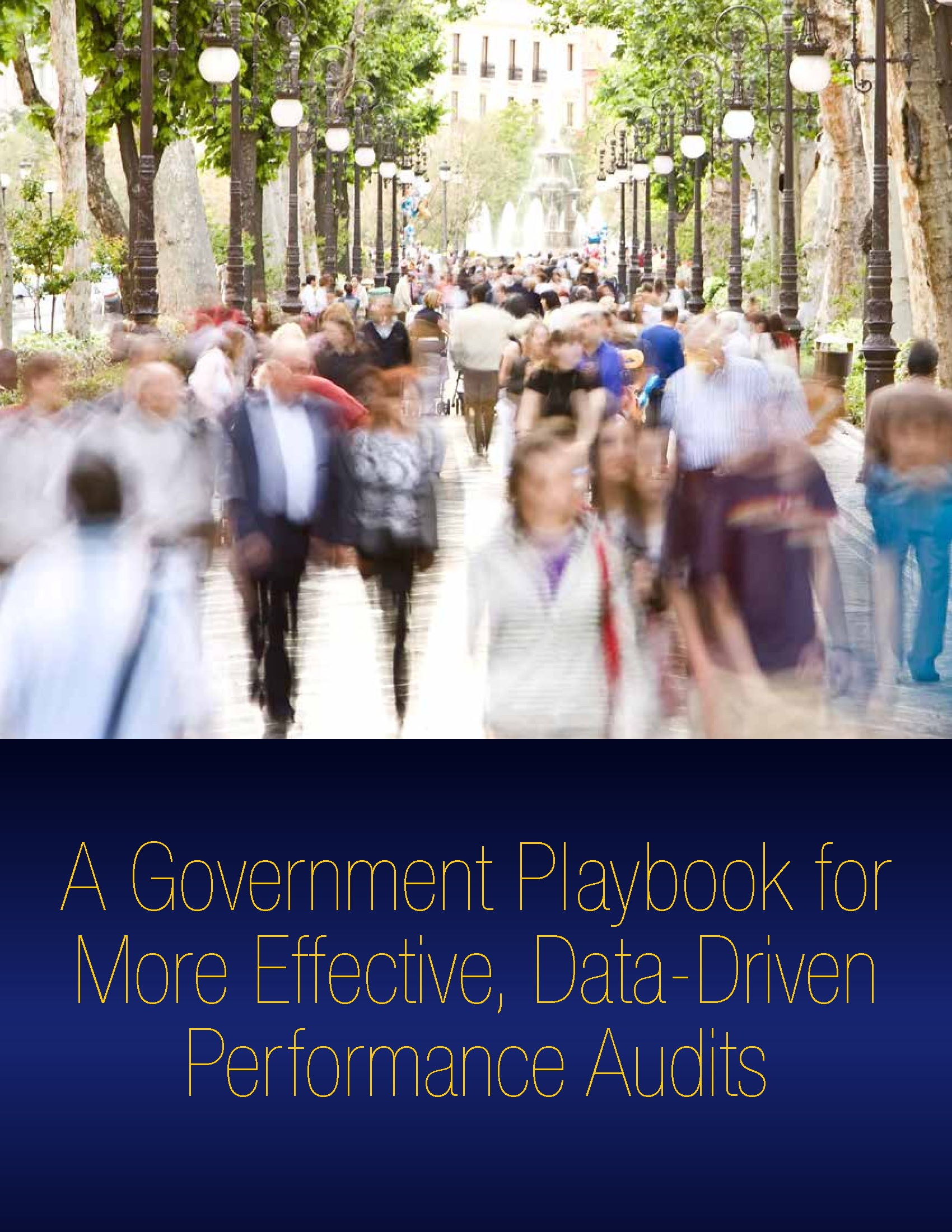 A Government Playbook for More Effective, Data-Driven Performance Audits