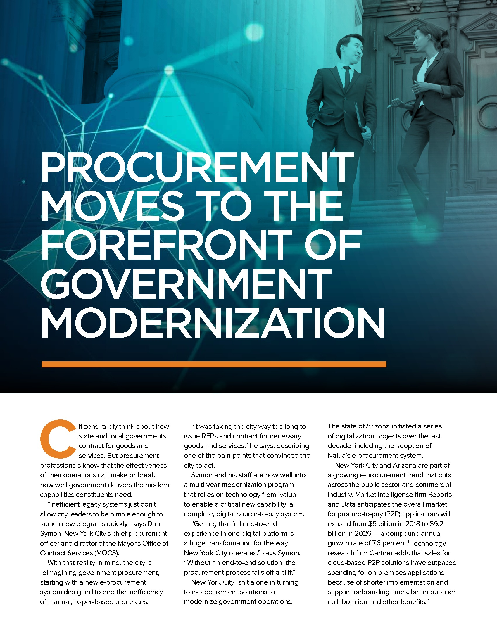Procurement Moves to the Forefront of Government Modernization