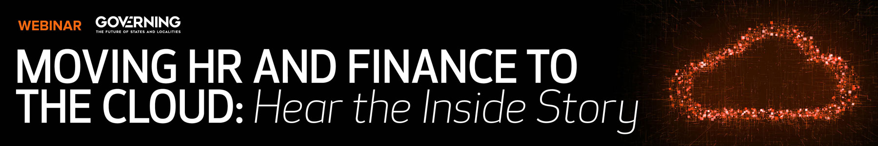 Moving HR and Finance to the Cloud: Hear the Inside Story