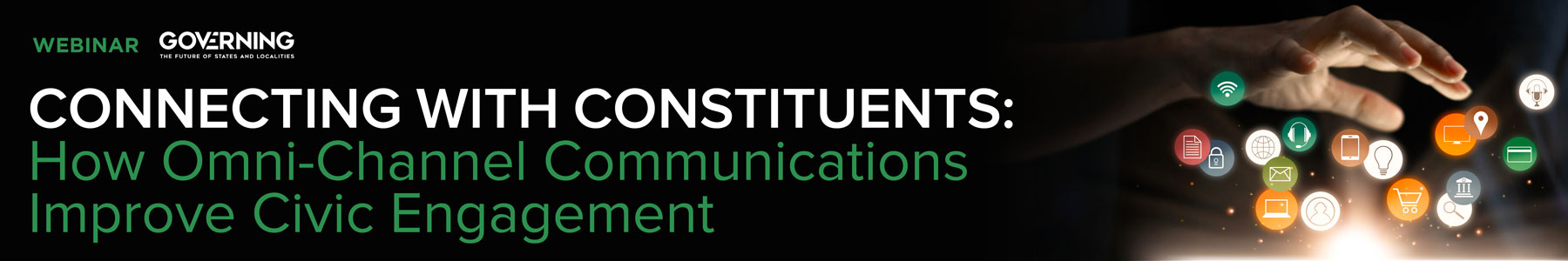 Connecting with Constituents: How Omni-Channel Communications Improve Civic Engagement