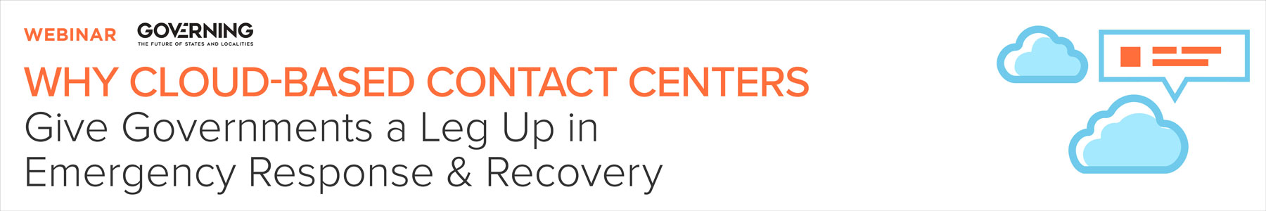 Why Cloud-Based Contact Centers Give Governments a Leg Up in Emergency Response & Recovery