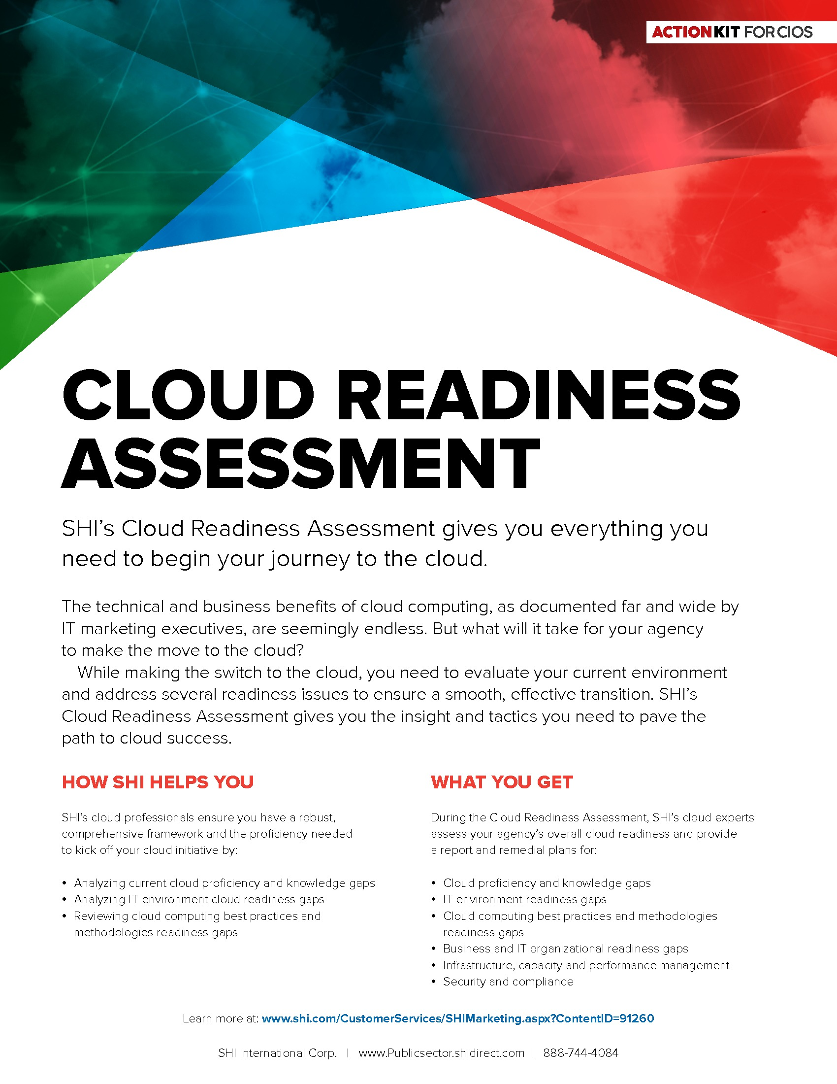 GT - SHI - Emerging Tech Channel - 181115 - Cloud Readiness Assessment