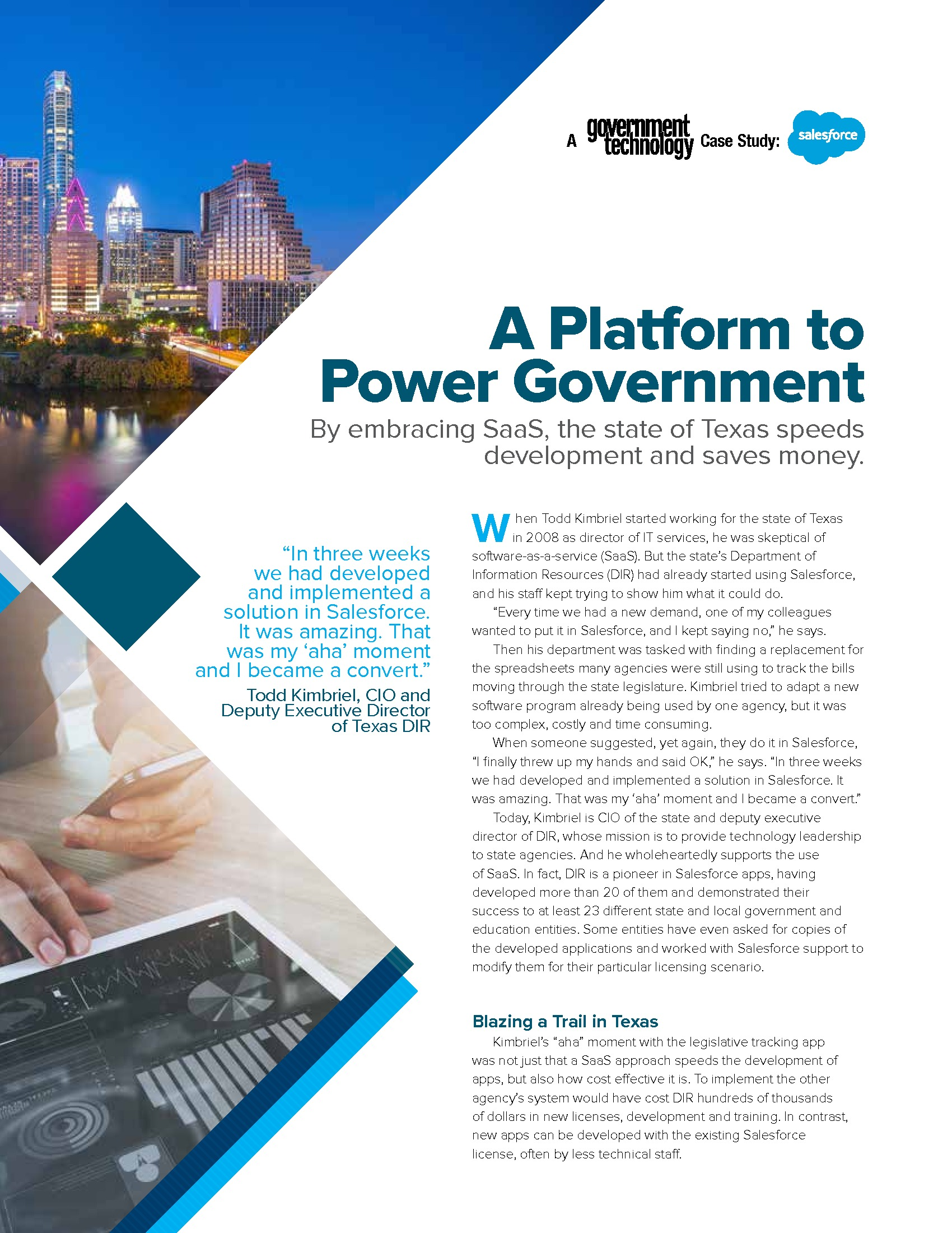 GT - Salesforce - Case Study - 180720 - A Platform to Power Government