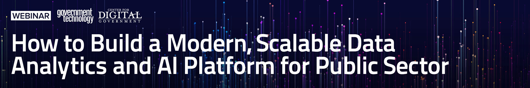 How to Build a Modern, Scalable Data Analytics and AI Platform for Public Sector
