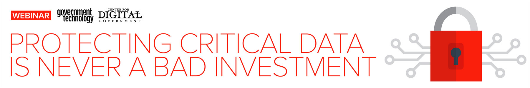Protecting Critical Data is Never a Bad Investment