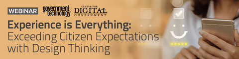 Experience is Everything: Exceeding Citizen Expectations with Design Thinking