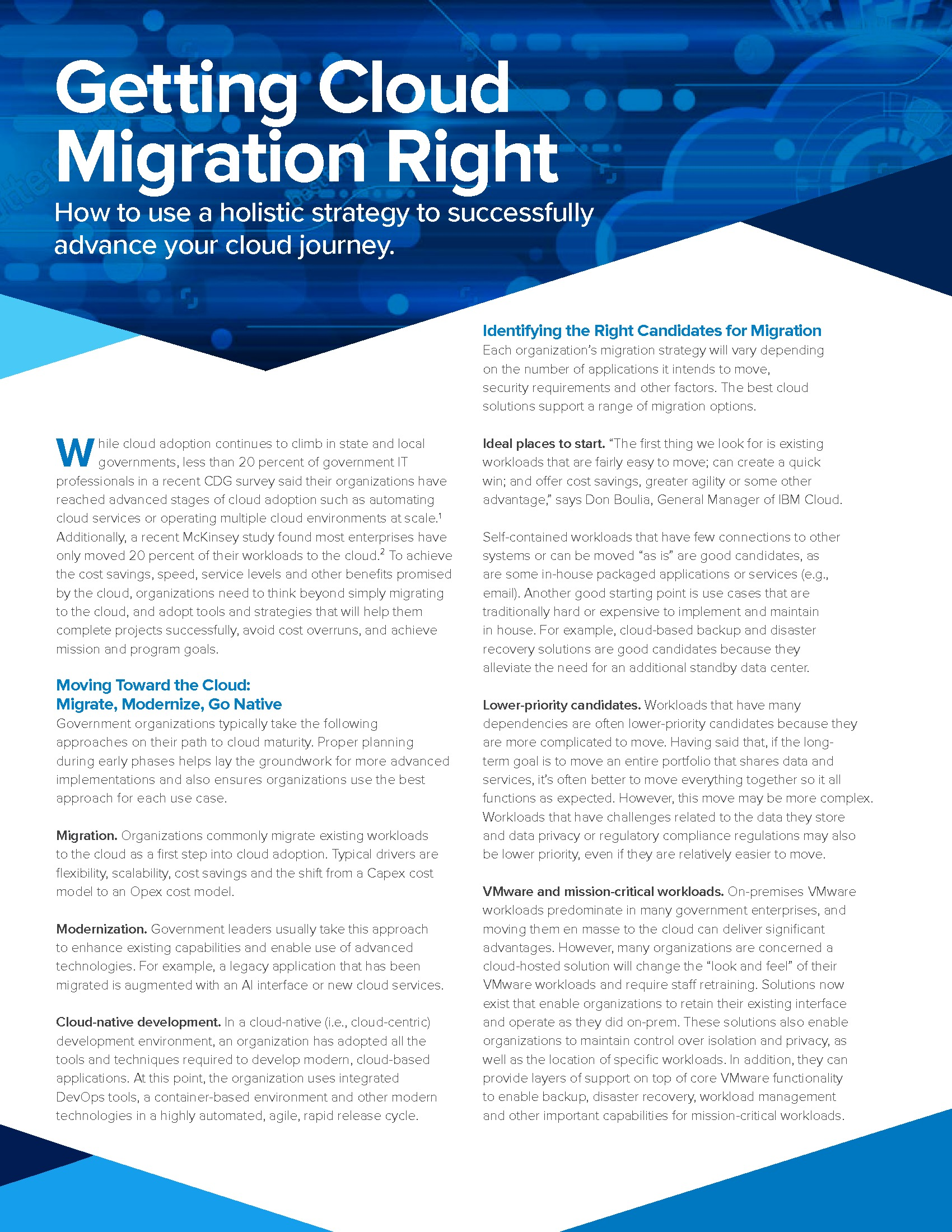 Paper: Getting Cloud Migration Right