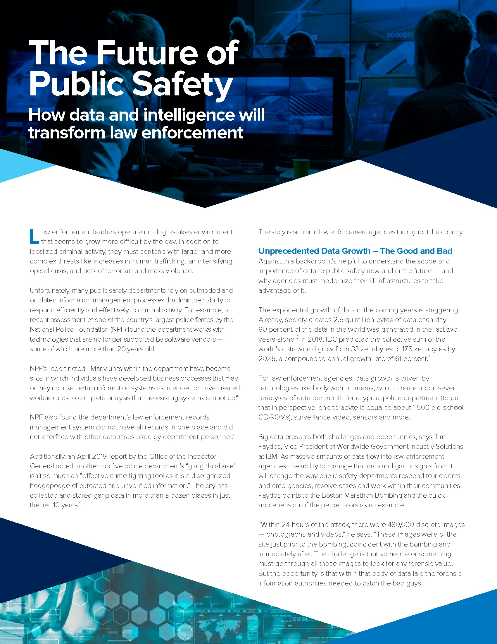 Paper: The Future of Public Safety