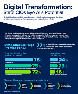 GT - IBM - Virtual Summit Issue Brief - 200110 - State CIOs Eye AI's Potential