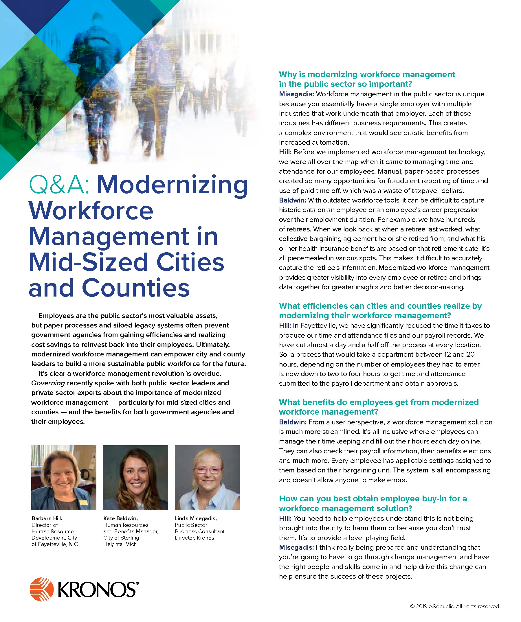 Q&A: Modernizing Workforce Management in Mid-Sized Cities and Counties
