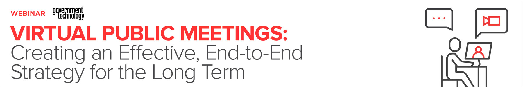 Virtual Public Meetings: Creating an Effective, End-to-End Strategy for the Long Term