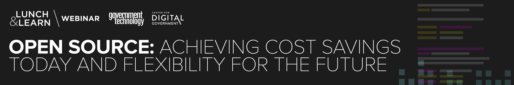 Open Source: Achieving Cost Savings Today and Flexibility for the Future