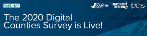 The 2020 Digital Counties Survey is Live!