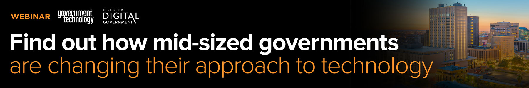Find out how mid-sized governments are changing their approach to technology