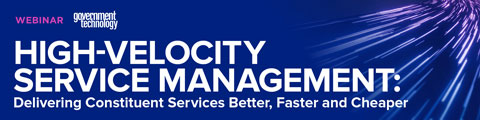 High-Velocity Service Management: Delivering Constituent Services Better, Faster and Cheaper