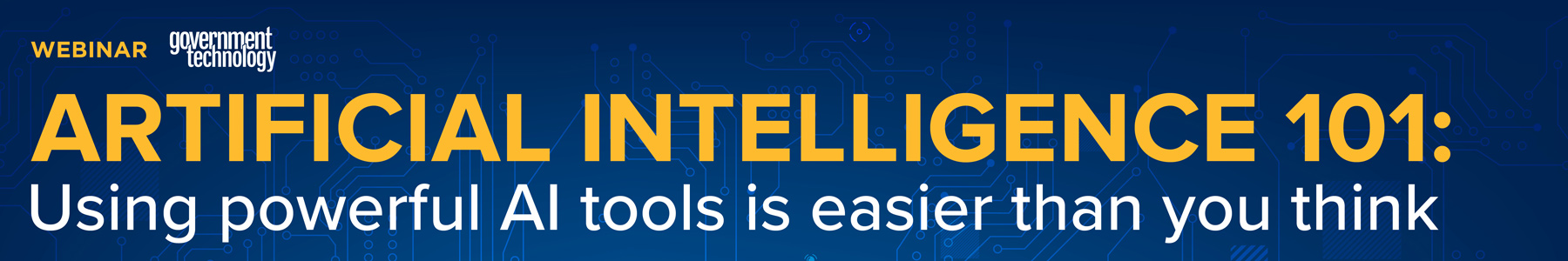 Artificial Intelligence 101: Using powerful AI tools is easier than you think