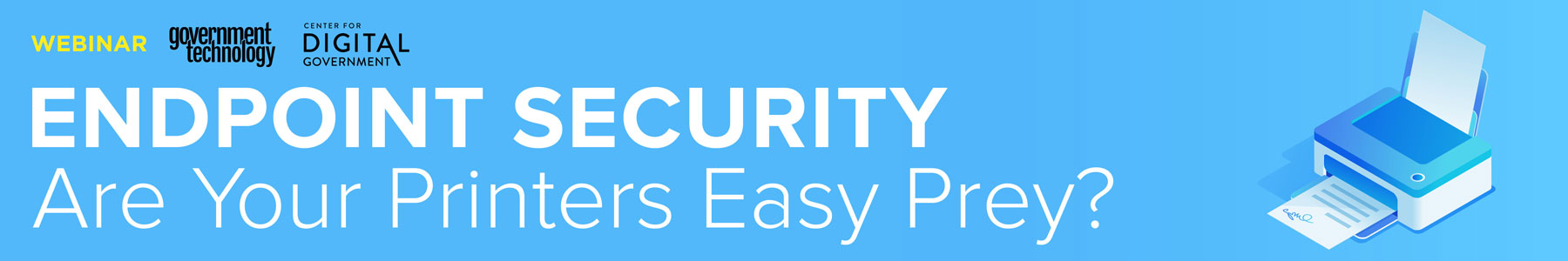 Endpoint Security: Are Your Printers Easy Prey?